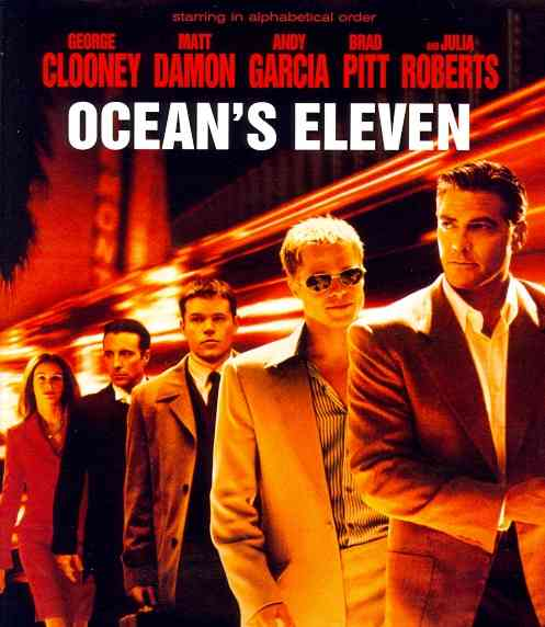 OCEAN'S ELEVEN BY CLOONEY,GEORGE (Blu-Ray)